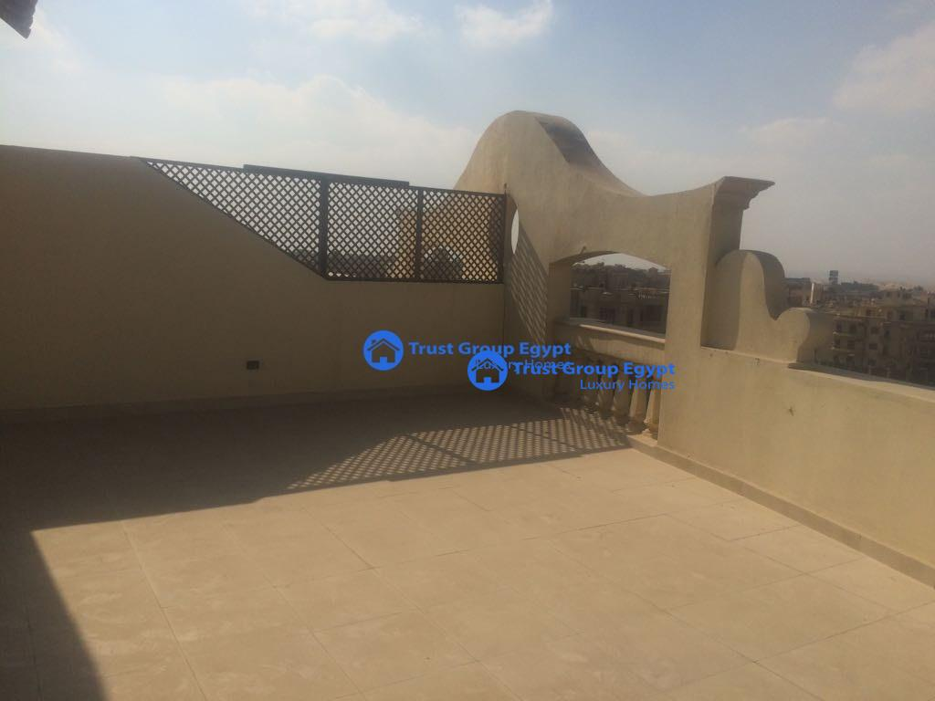 best option pent house for rent in new cairo