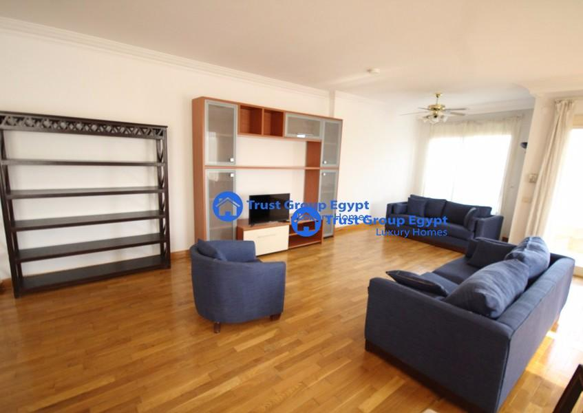 - excellent & fully renovated apartment for rent in very quiet location, Maadi Degla