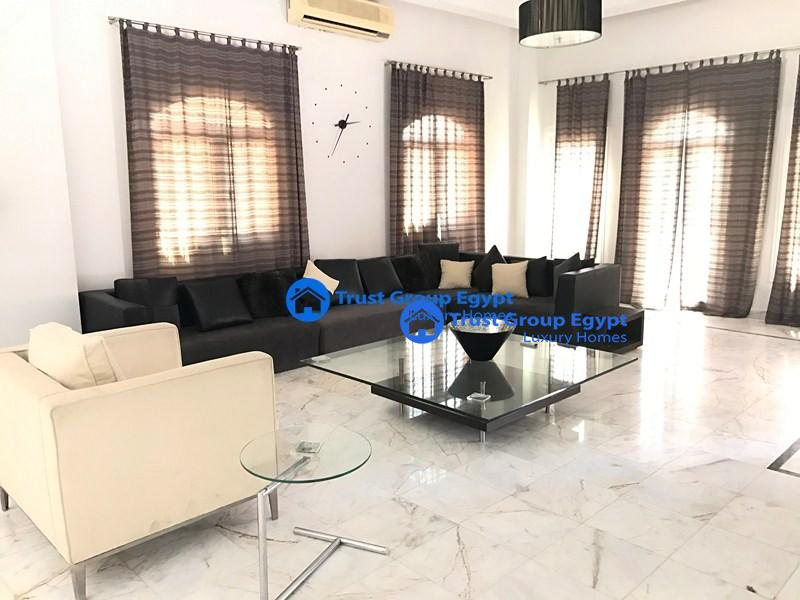 Deluxe Finishing ground floor -For Rent at new cairo