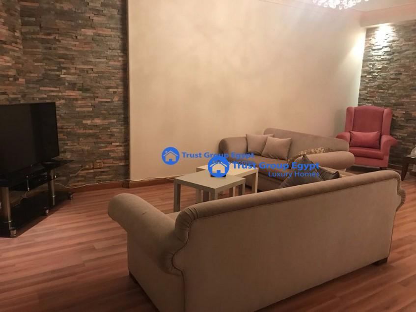 fully furnished modern apartment for rent in maadi