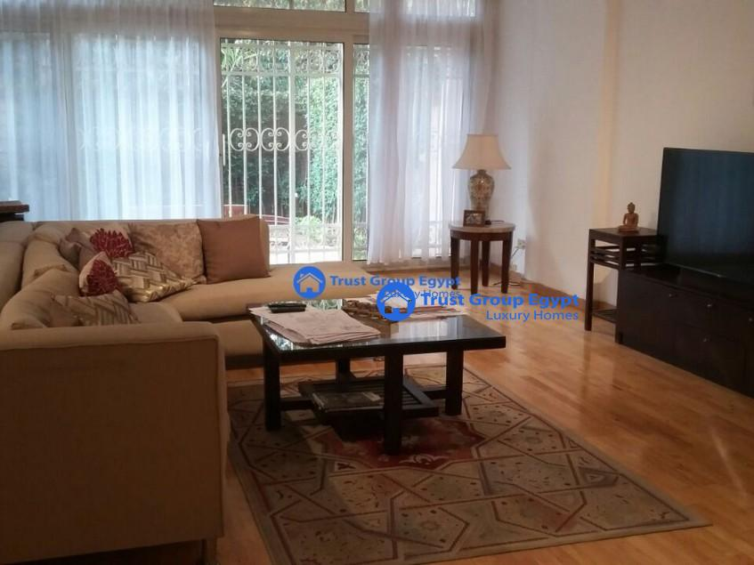 ground floor with private entrance for rent in maadi saryaat