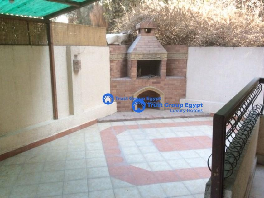 Very Bright Semi Furnished ground floor For Rent In Maadi Saryaat