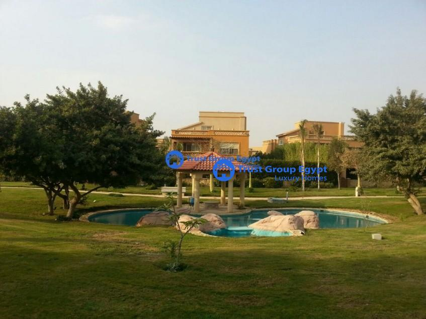 fully furnished modern villa for rent in balgiuo compound